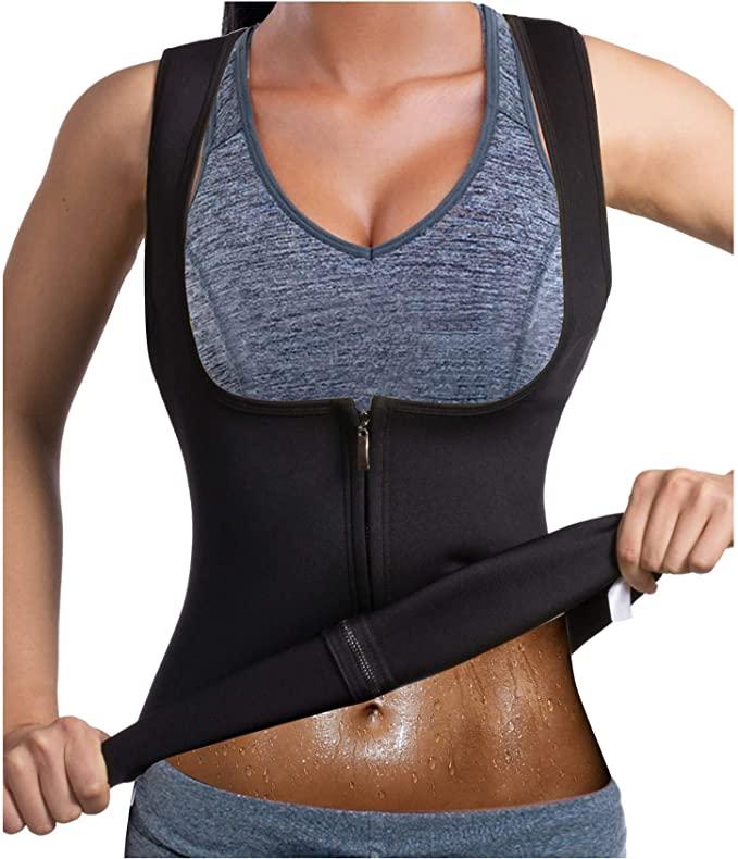 GAODI Waist Trainer Sauna Vest Slim Corset Neoprene Cincher - Best waist trainer for lower belly fat