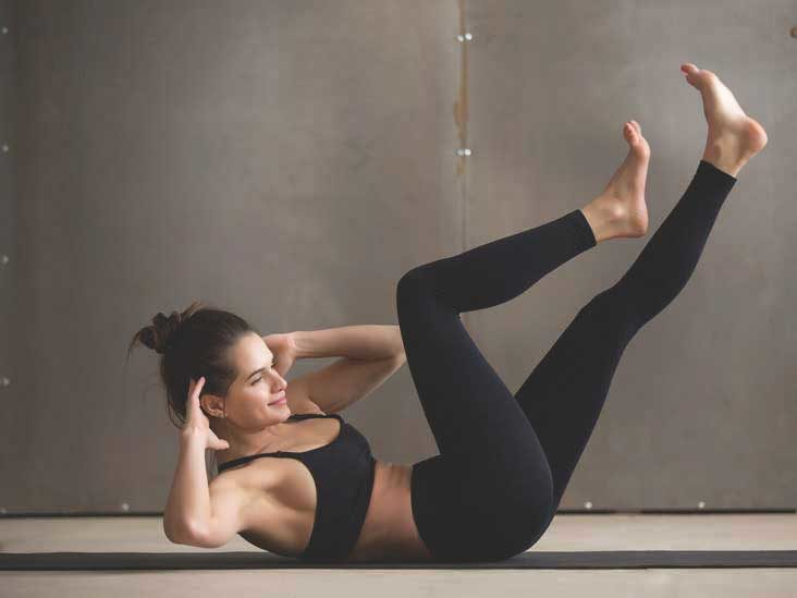 Abs and small waist exercise