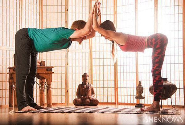 Temple Pose for two persons