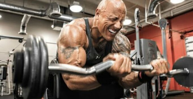 how to get buff fast dwayne johnson